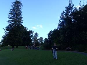 Dad At The Royal Botanic Gardens