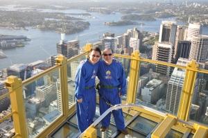 Walking 268 Metres Above Sydney