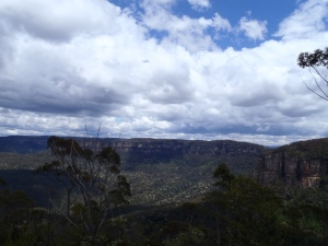 The Breathtaking View Of The Jamison Valley Outside Waradah Centre