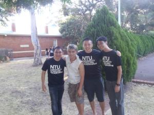 Me, Edwin, Jin Yang & Bryan Sr. @ Taylors Cottage