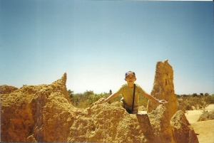 Slice Of The Past - At The Pinnacles In 2002