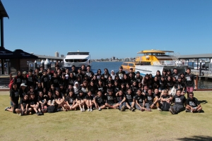 Group Photo @ Barrack Street Jetty