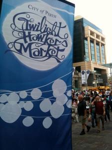 Twilight Hawkers Market