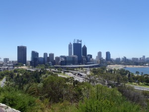 View Of The CBD From Kings Park And Botanic Gardens