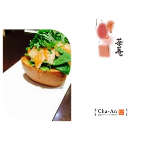 Tea-Smoked Salmon Toast from Cha-An