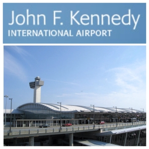 Flying out of New York via JFK