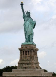 The Statue of Liberty was smaller than what I expected it to be