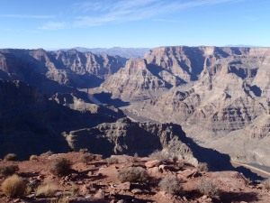 The West Rim of The Grand Canyon