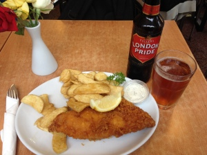 Fish & Chips from Rock and Sole Plaice