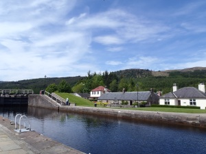 Fort Augustus Canal Locks