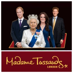 The Royal Family at Madame Tussauds London