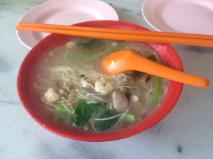 Oyster Mee Sua - simple, cheap and delicious