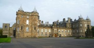 The Palace of Holyroodhouse - Photo Credits: Wikipedia