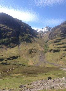 The Highlands of Scotland - Glen Coe