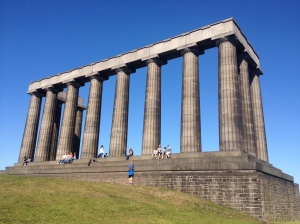 The National Monument of Scotland @ Calton Hill