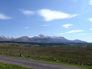 The view seen from The Commando Memorial, Spean Bridge