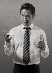 Adrian Pang was brillant in his portrayal of Mr Lee