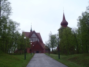 Kiruna Church - Voted Sweden's most beautiful building