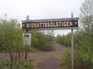 Going ahead with the Midnattssolstigen despite the rain
