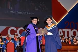 Finally a university graduate