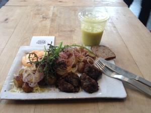 Vegetarian Meatballs from Kalf & Hansen