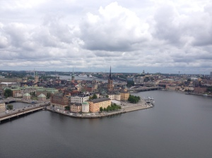 Views from the 106m Stockholm City Hall Tower