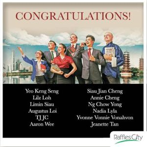 I won two extra tickets to Chinglish! Courtesy of Raffles City Singapore
