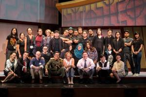 The Cast and Creative Team behind Chinglish