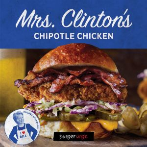 Mrs. Clinton - by Burger Urge