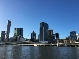 The View of the CBD from South Bank