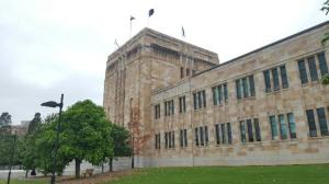 Sandstone Buildings at UQ